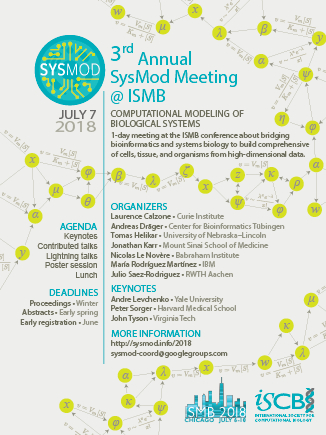 2018 SysMod meeting @ ISMB – SysMod: Computational Modeling